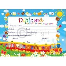 Diploma Absolvire Clasa Pregatitoare 1 2019