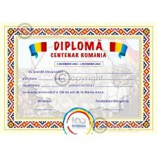 DIPLOMA CENTENAR ROMANIA
